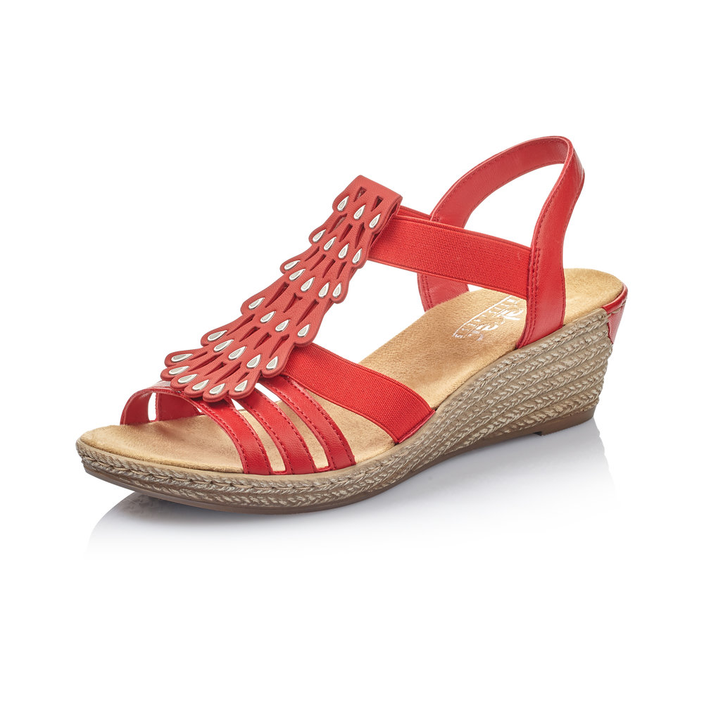 Rieker Sandaalit 62436 33 punainen